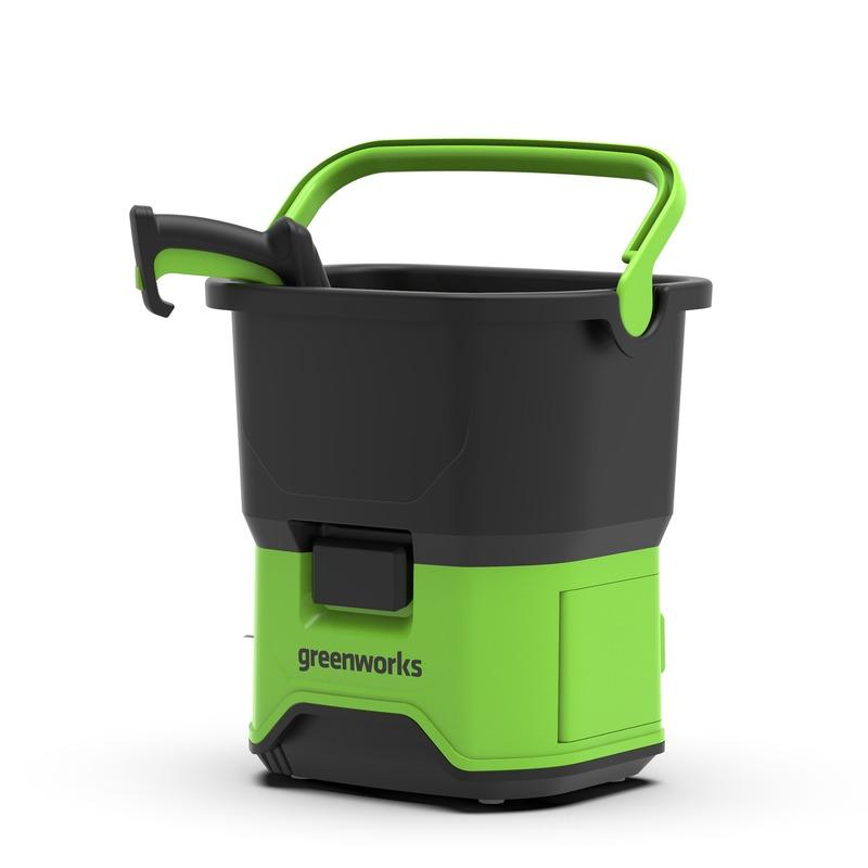 Купить Мойка аккумуляторная Greenworks 40в /70бар/ (без аккумуляторной батареи и зарядного устройства), Китай