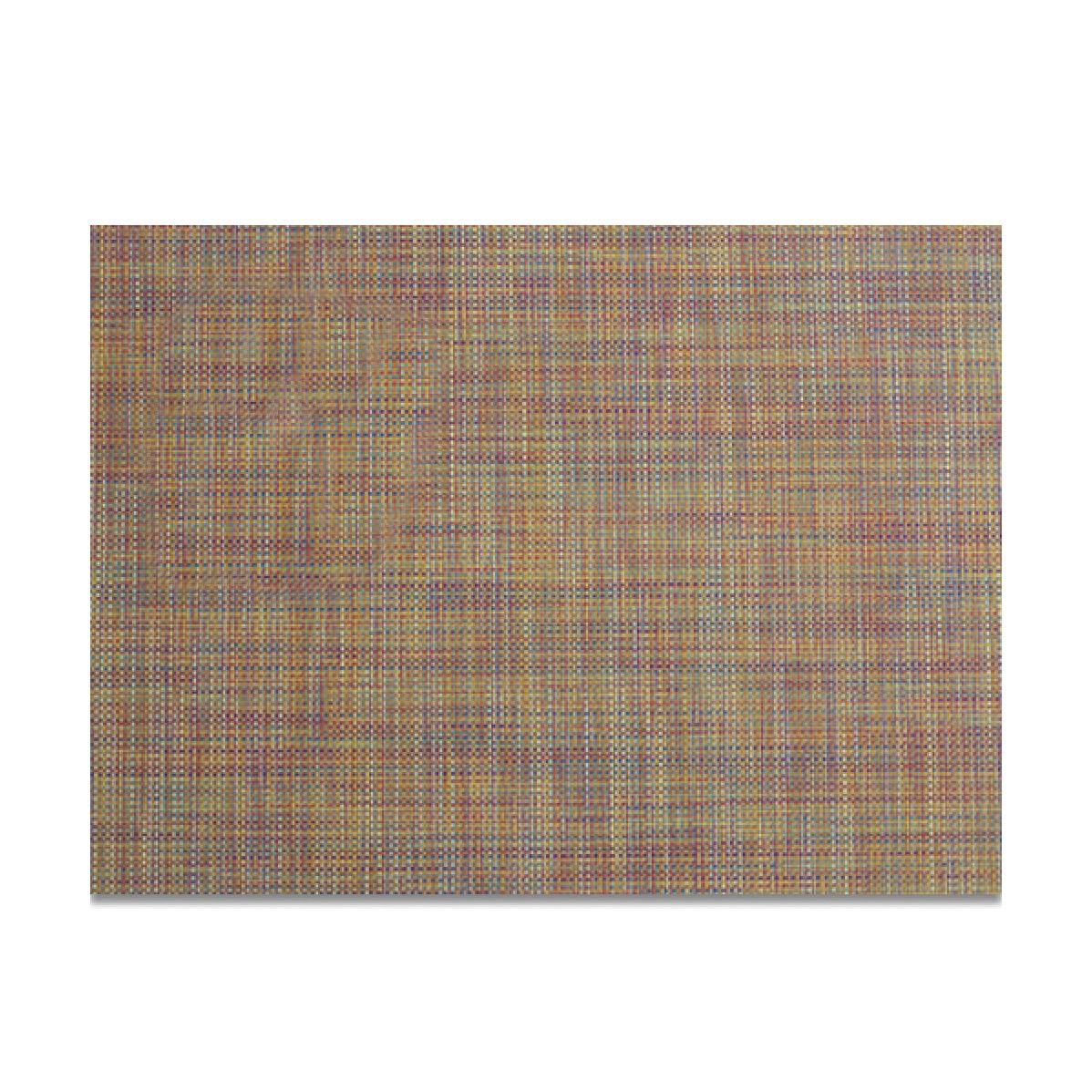 Салфетка подстановочная Chilewich Mini Basketweave разноцветная 36х48 см