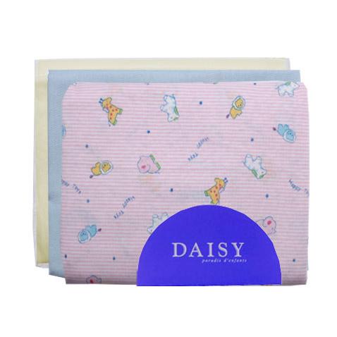 Пеленка Daisy трикотажная 95*120 розовая 3 шт пеленки daisy пеленка дракончик 4 шт