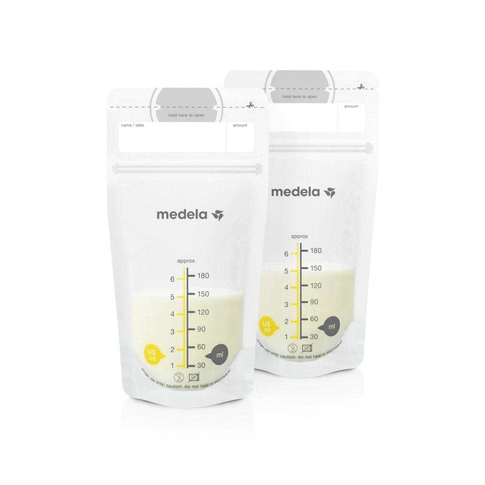 Пакеты для хранения грудного молока Medela одноразовые Breast Milk Storage Bags 50 шт