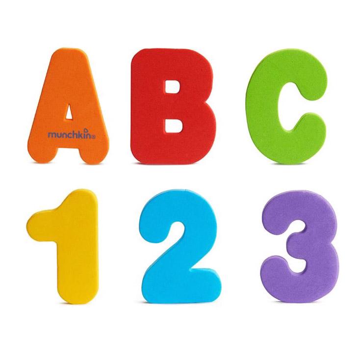 Игрушка для ванной Munchkin Буквы и цифры игрушки для ванны munchkin игрушка для ванной пирамидка гусеница