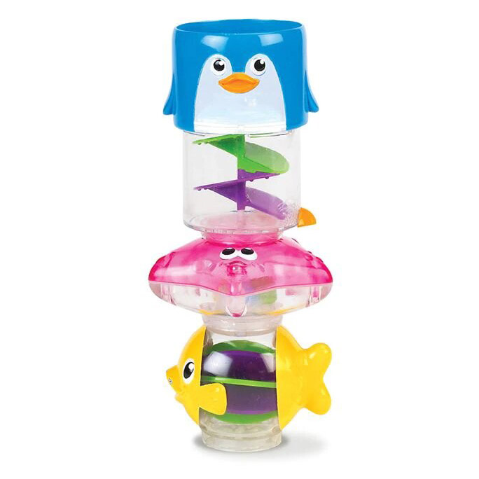 Игрушка для ванной Munchkin Пирамидка 3 в 1 игрушки для ванны munchkin игрушка для ванной пирамидка гусеница