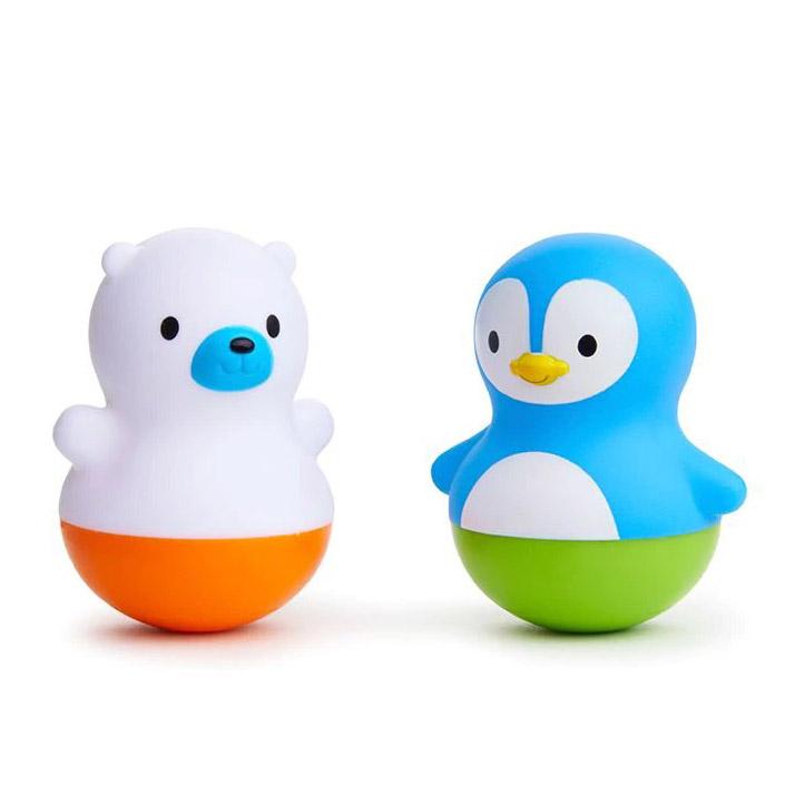 Игрушка для ванной поплавок Munchkin Медведь и Пингвин