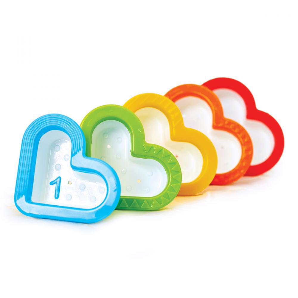 Игрушка для ванной Munchkin Сердечки игрушки для ванны munchkin игрушка для ванной пирамидка гусеница