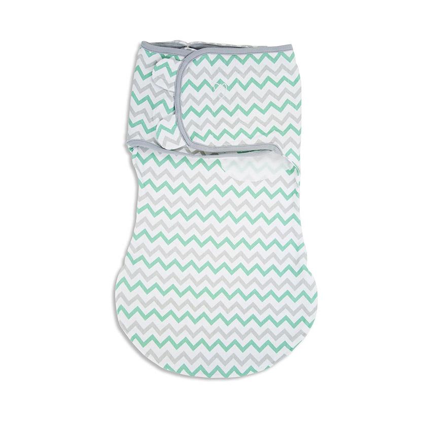 Конверт Summer Infant Wrap Sack на липучке с двумя способами фиксации Зигзак S/M