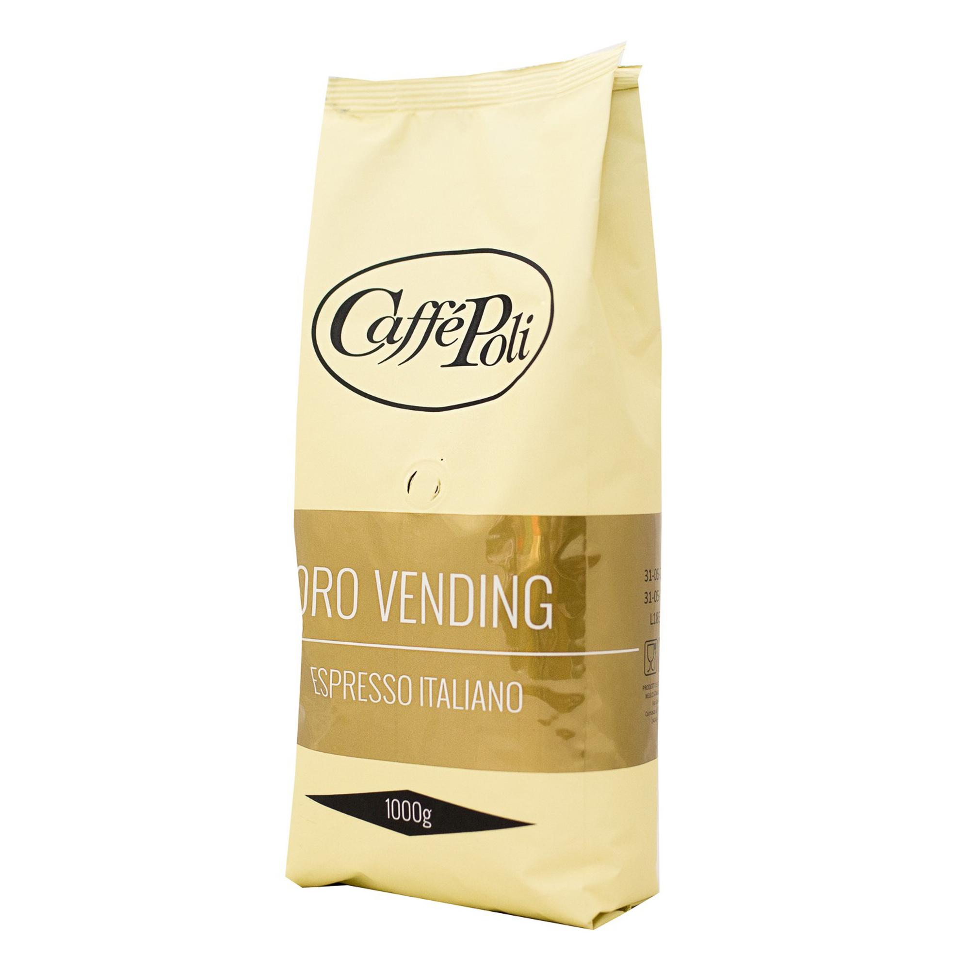 Кофе в зернах Caffe Poli Oro Vending 1 кг кофе в зернах piazza del caffe