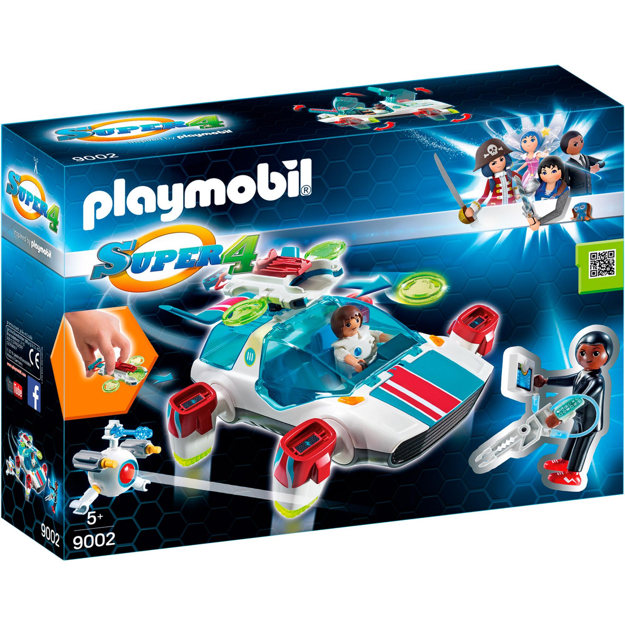 Конструктор Playmobil Фулгурикс с агентом Джин фото