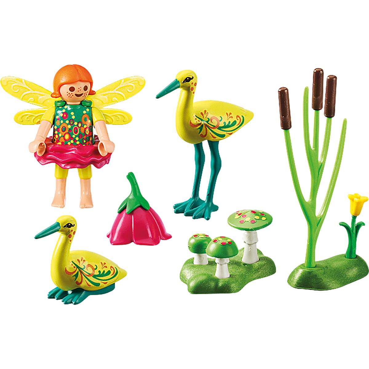 Фото - Игровой набор Playmobil Феи: Девочка-фея с аистами playmobil игровой набор фермер с домашними животными