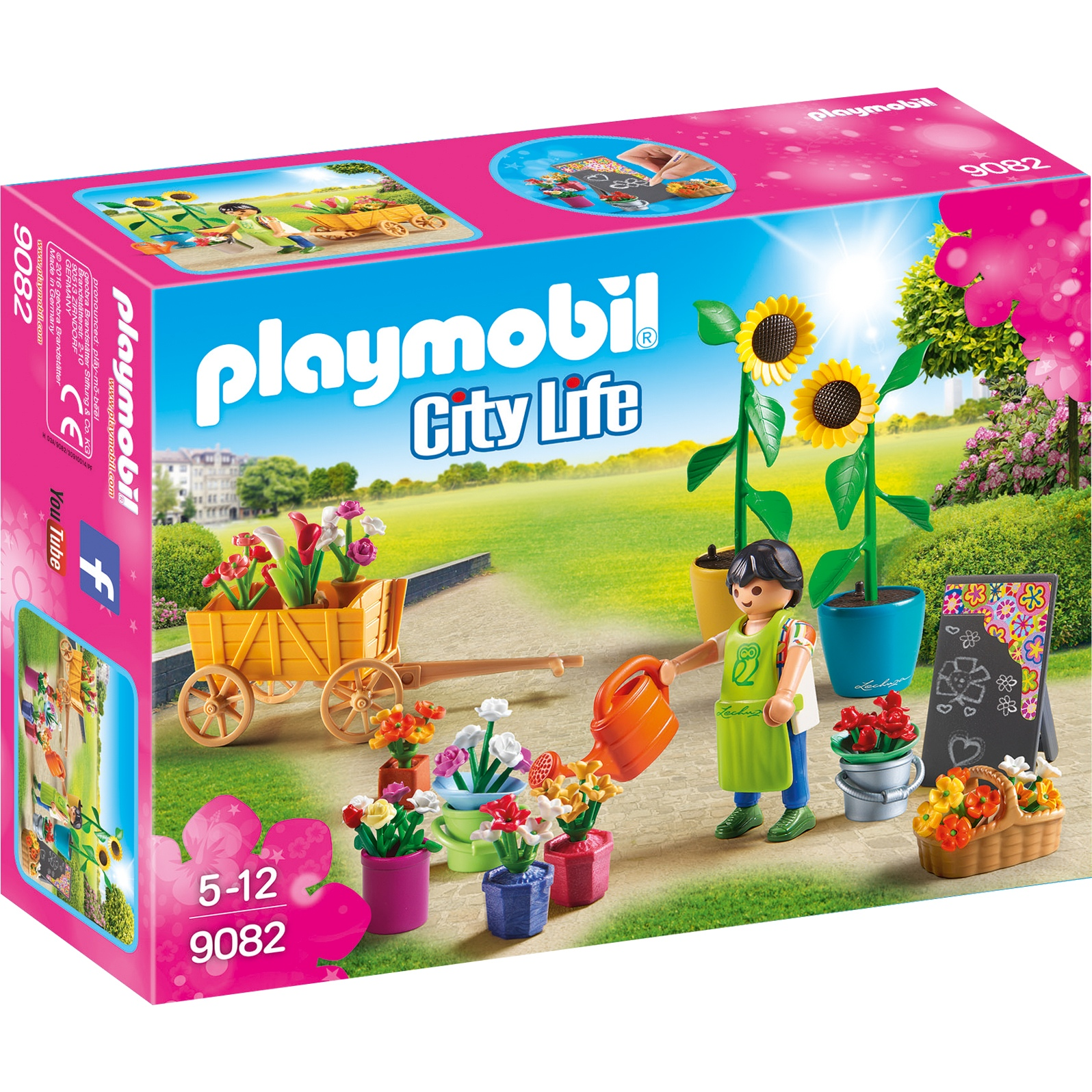 Фото - Игровой набор Playmobil Шопинг: Флористический магазин playmobil игровой набор фермер с домашними животными
