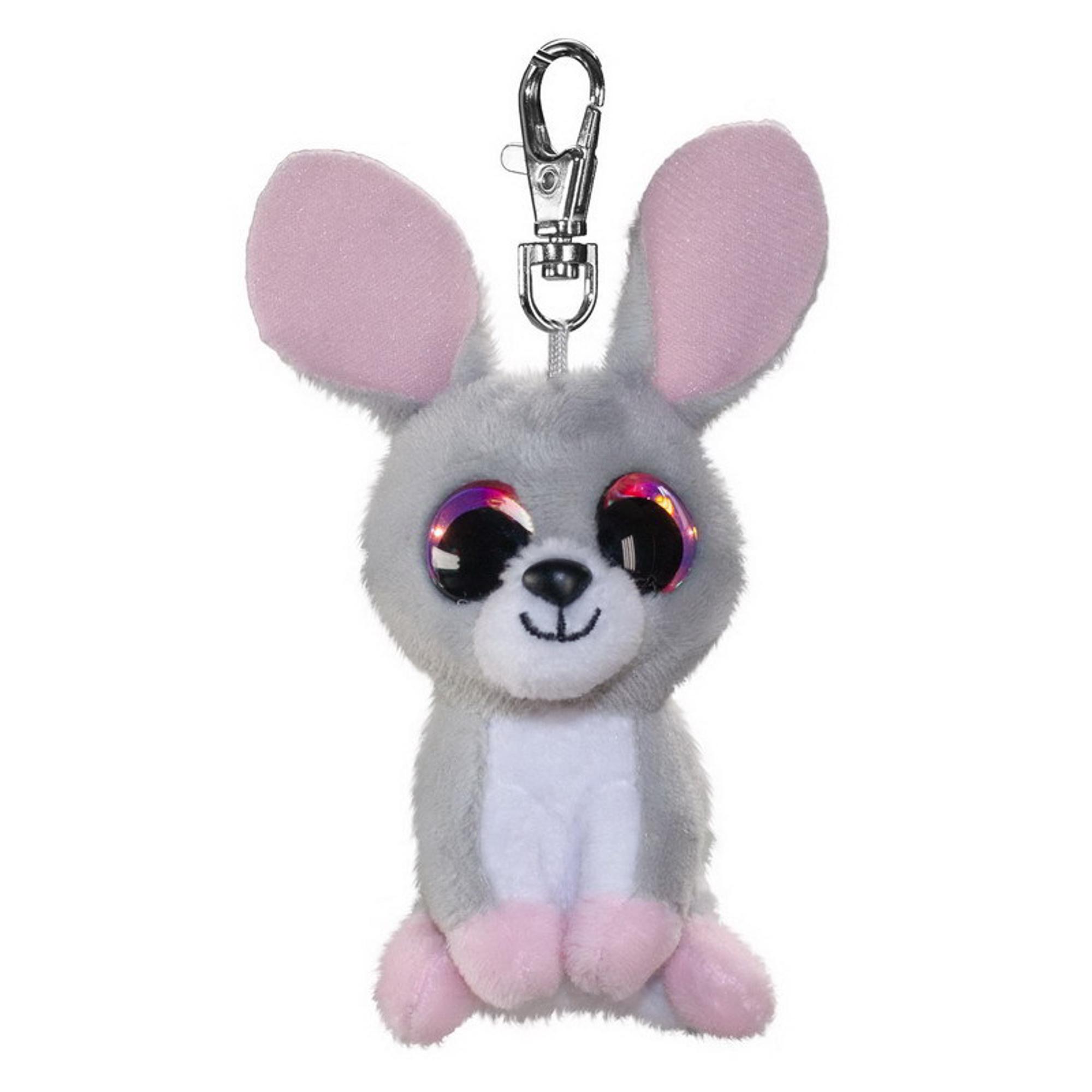 Купить Брелок LUMO Кролик Pupu 8.5 см, брелок, Китай, пластик, иск.мех, текстиль