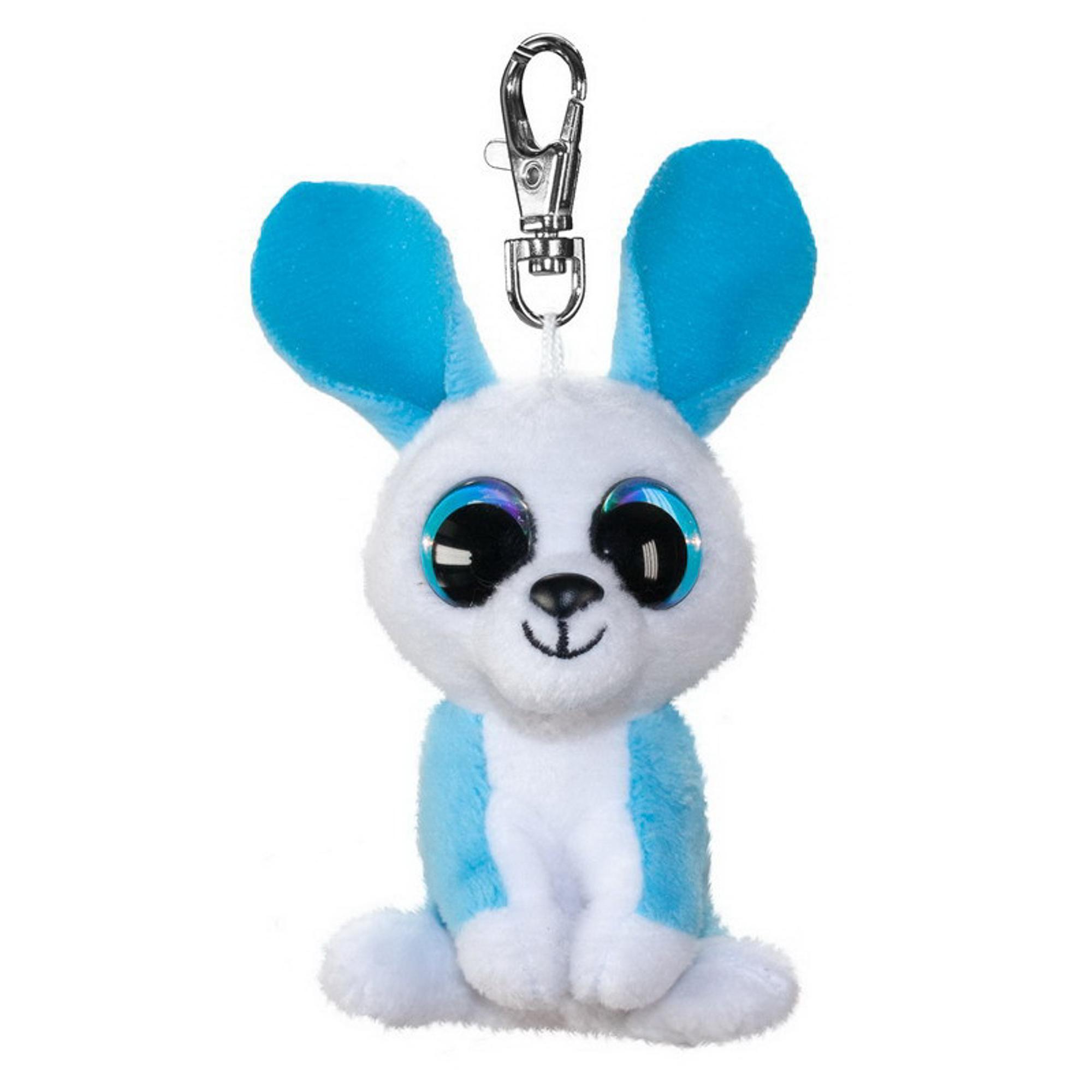 Купить Брелок LUMO Кролик Ice 8.5 см, брелок, Китай, пластик, иск.мех, текстиль