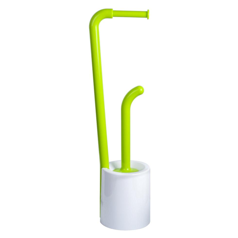 стойка напольная fixsen rainbow держатель для бумаги ершик для унитаза двойная цвет синий 58 8 х 27 5 х 16 см Ершик и держатель для бумаги Fixsen Wendy FX-7032-60