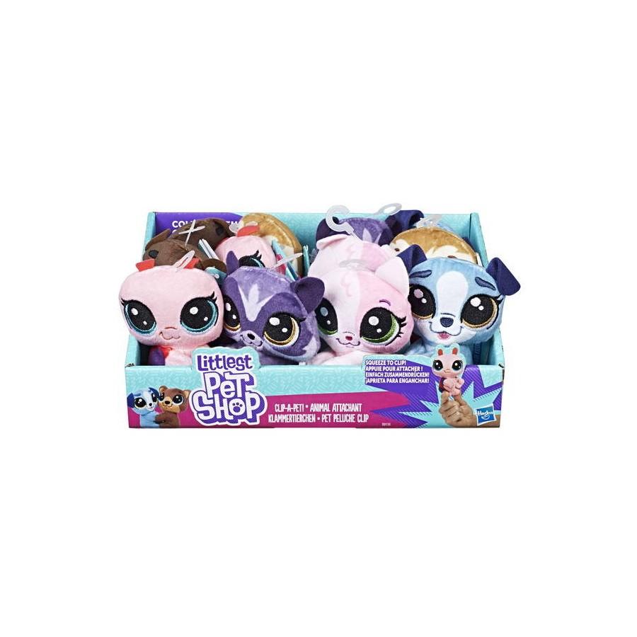 Мягкая игрушка Hasbro Littlest Pet Shop Пет-прилипала 10 см