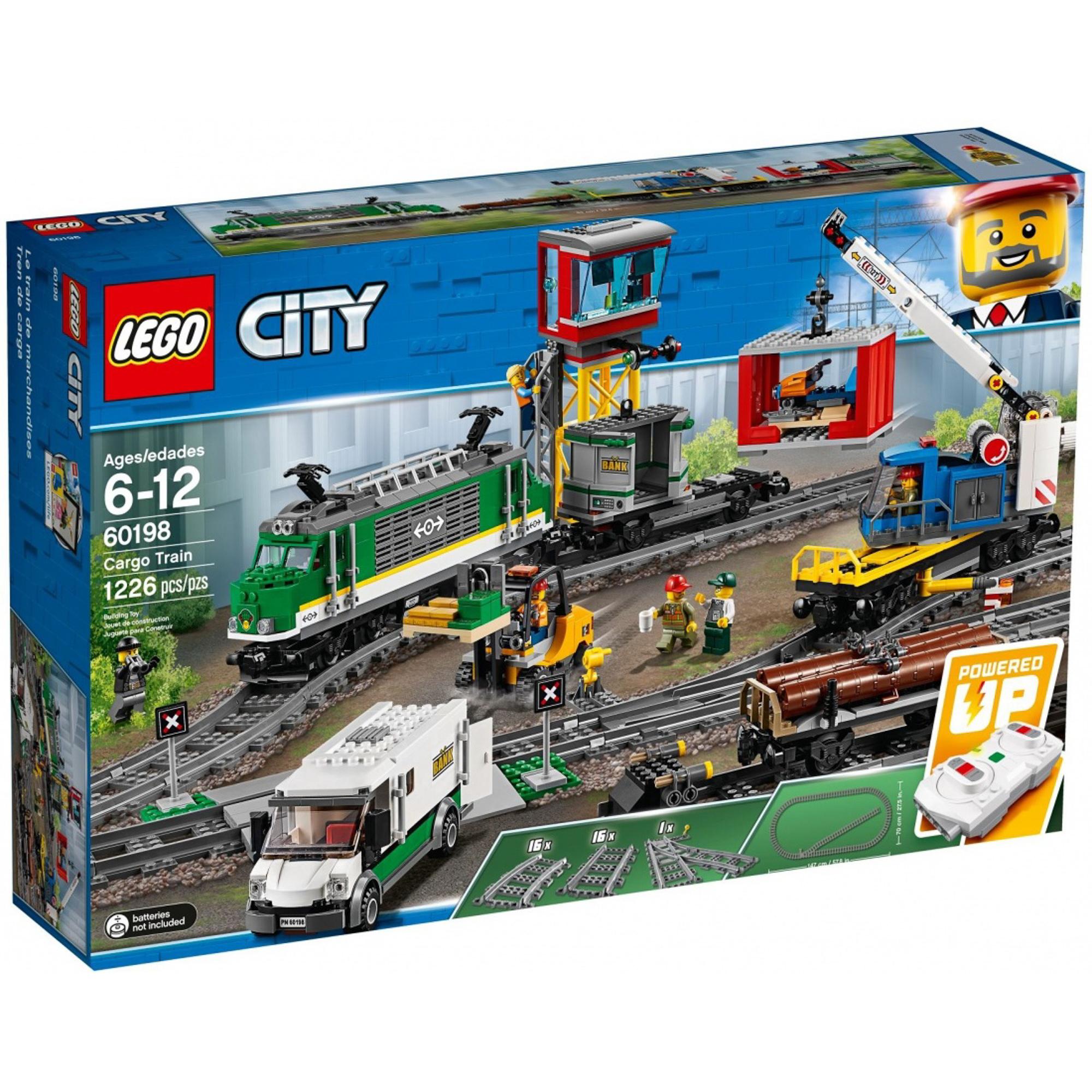 Купить Конструктор LEGO City Trains Товарный поезд, Китай, пластик, для мальчиков, Конструкторы, пазлы