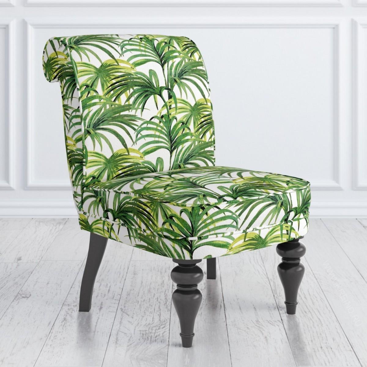 Кресло Kreind зеленые листья 55x72x83 см мебель для домашнего кабинета