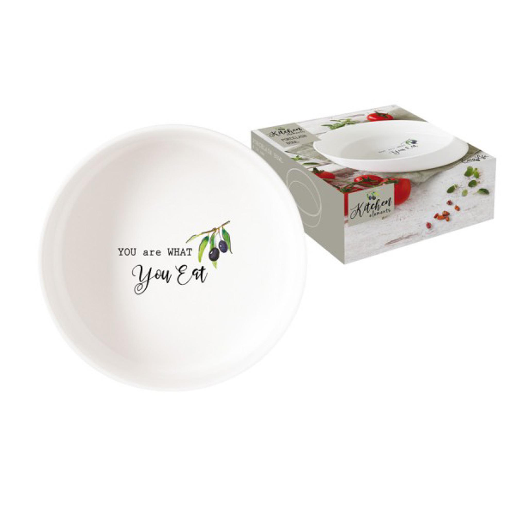 Фото - Чаша-салатник Easy Life Kitchen Elements 16 см салатник easy life терраццо 16 см