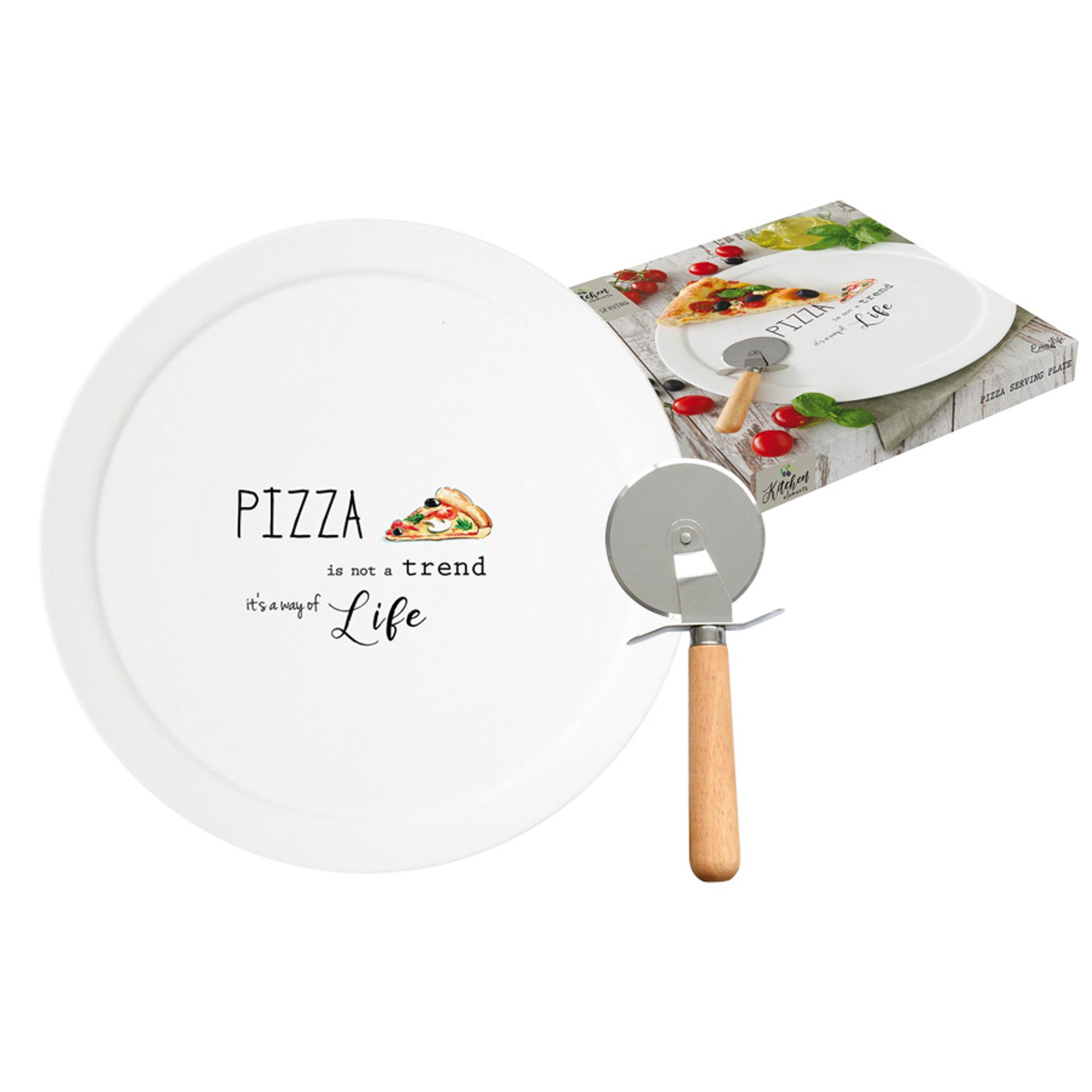 Набор для пиццы Easy Life Kitchen Elements блюдо и нож