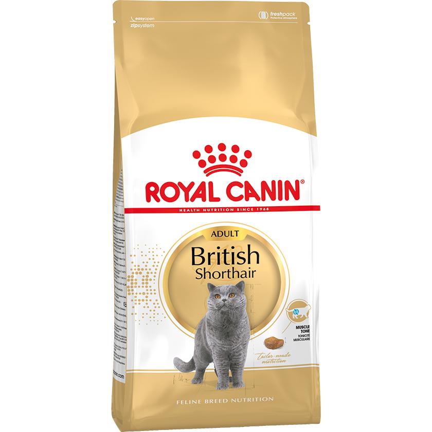 Корм для кошек Royal Canin British Shorthair Adult для британских короткошерстных 4 кг недорого