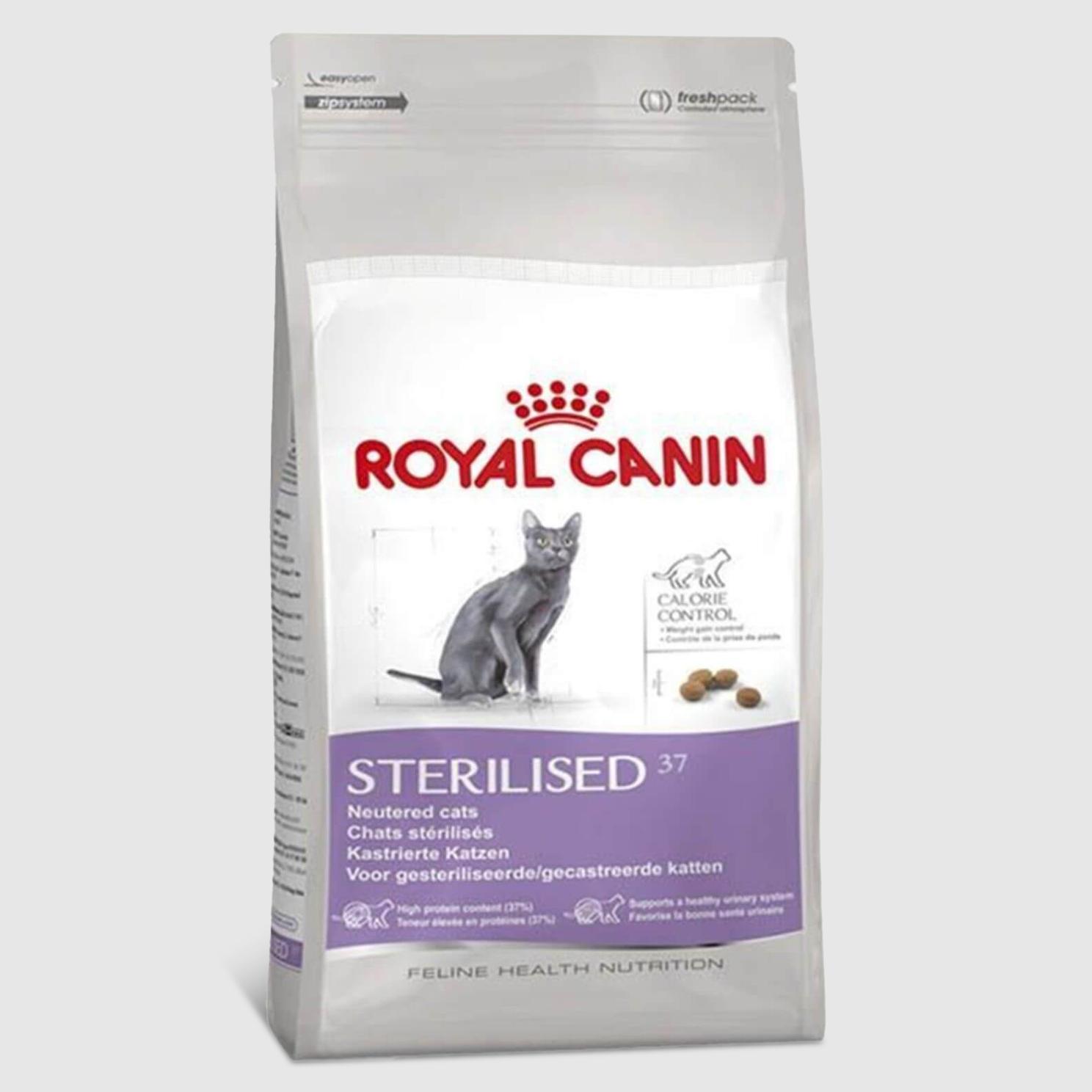 Корм Royal Canin Sterilised 37 для стерилизованных кошек 4 кг.