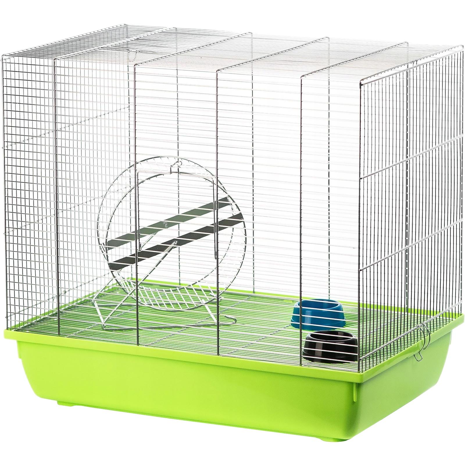 Клетка для грызунов Inter-Zoo Wiewiorka для дегу 59х36х52см в ассортименте фото