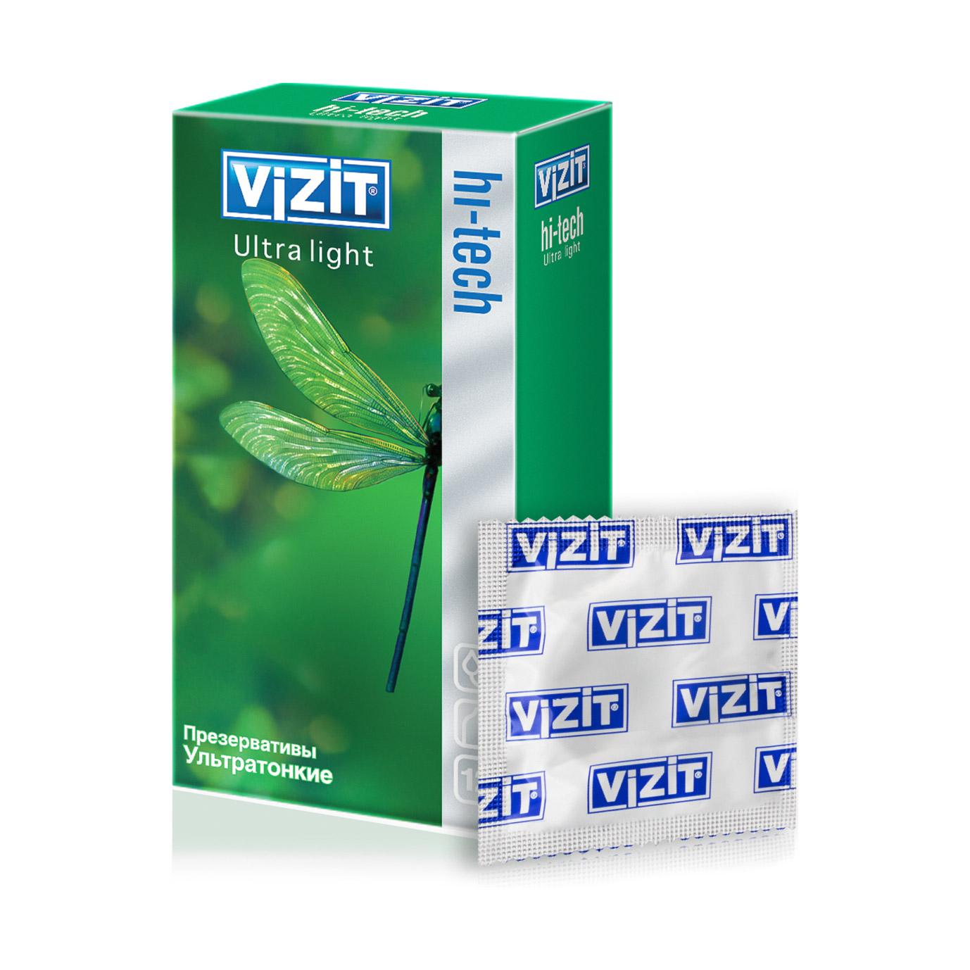 Презервативы VIZIT Ultra Lights 12 шт