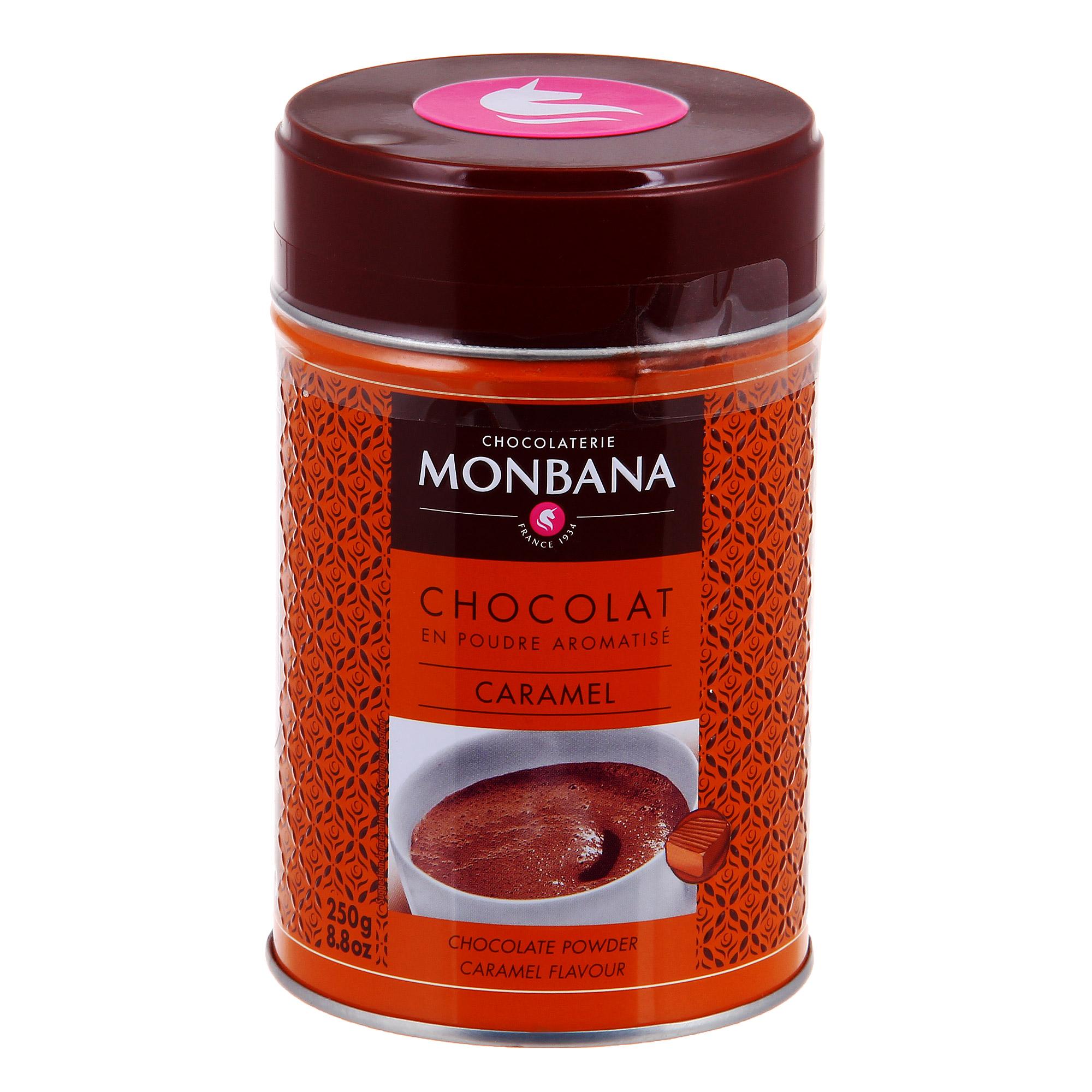 Горячий шоколад Monbana Карамель 250 г lafesta горячий шоколад
