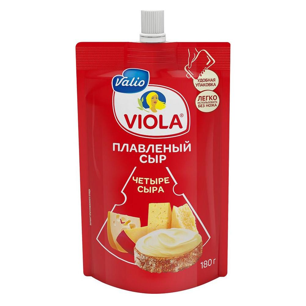 Фото - Сыр Valio Viola плавленый 4 сыра 45% 180 г сыр valio viola плавленый ветчина и пармезан 45% 180 г
