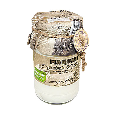 Мацони Полезные продукты 2,5% 350 г