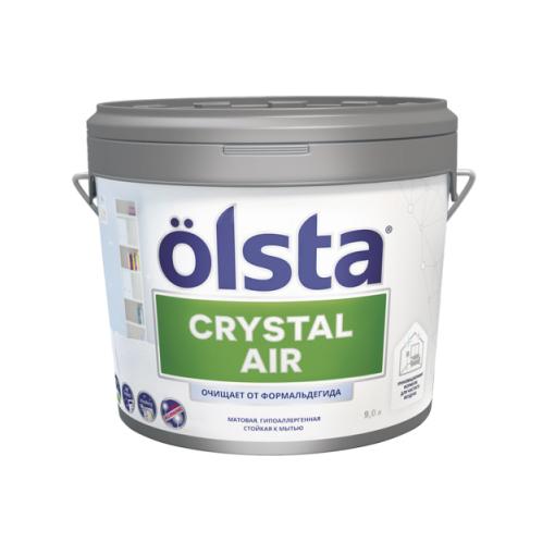 Краска Olsta Crystal Air База А 0,9 л