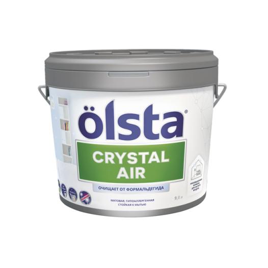 Фото - Краска Olsta Crystal Air База А 9 л desktop air purification crystal bottle