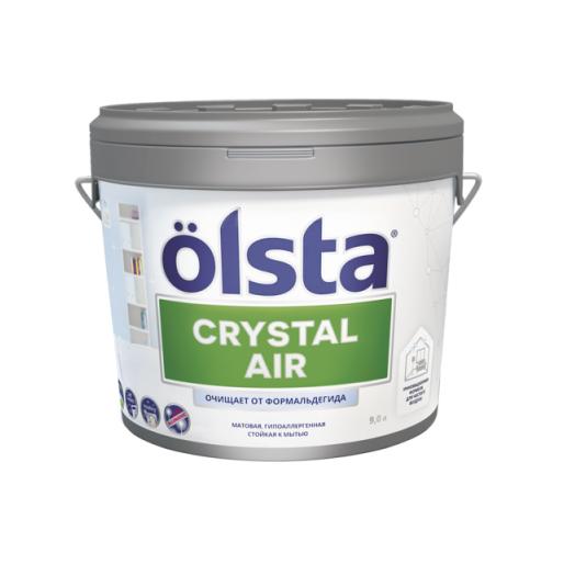 Фото - Краска Olsta Crystal Air База С 0,9 л desktop air purification crystal bottle