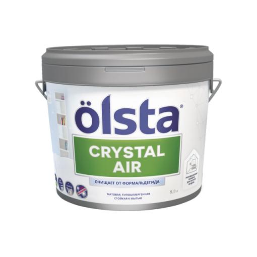 Фото - Краска Olsta Crystal Air База С 2,7 л desktop air purification crystal bottle