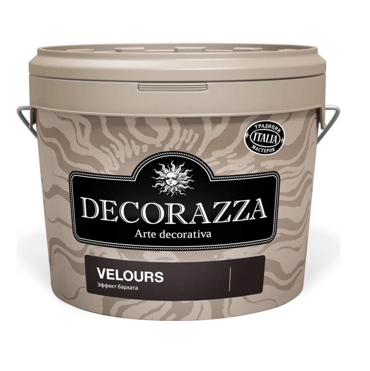 Покрытие декоративное с эффектом бархата Decorazza dz velours vl 001. 6