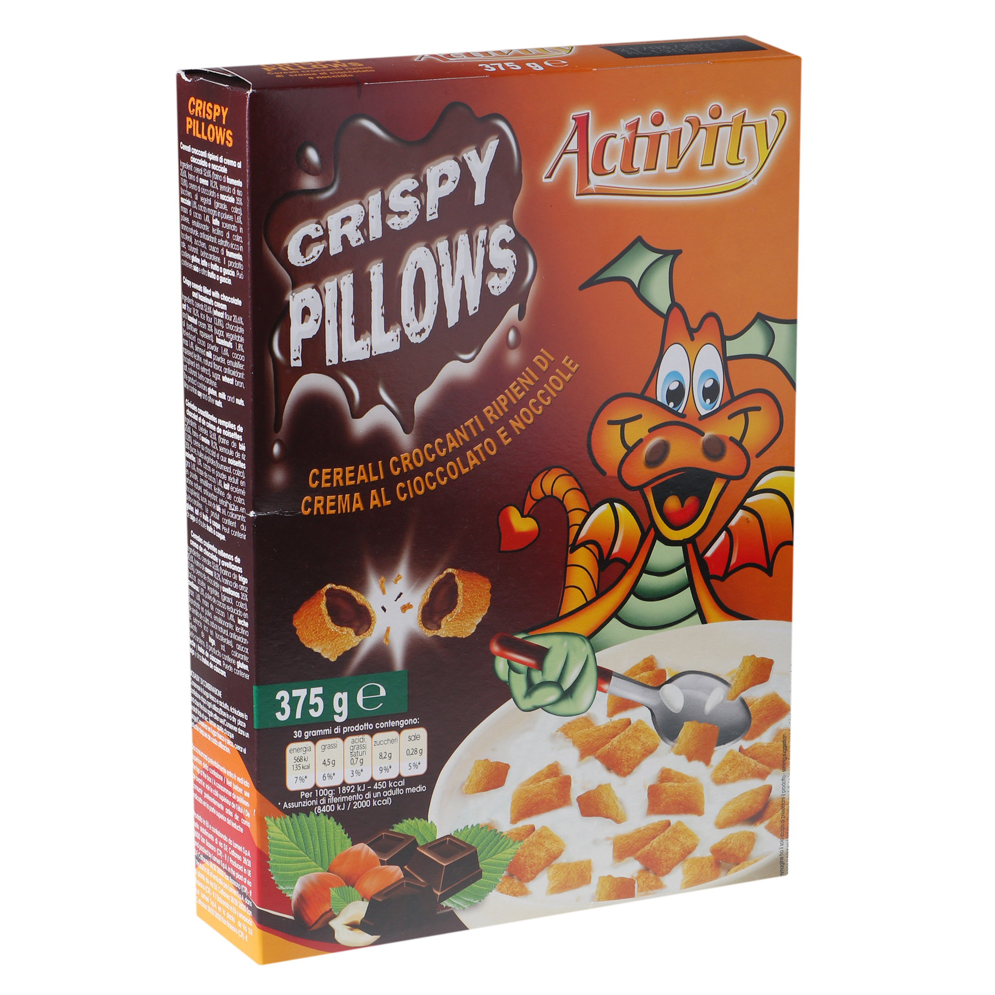 Подушечки Activity Crispy Pillows 375 г