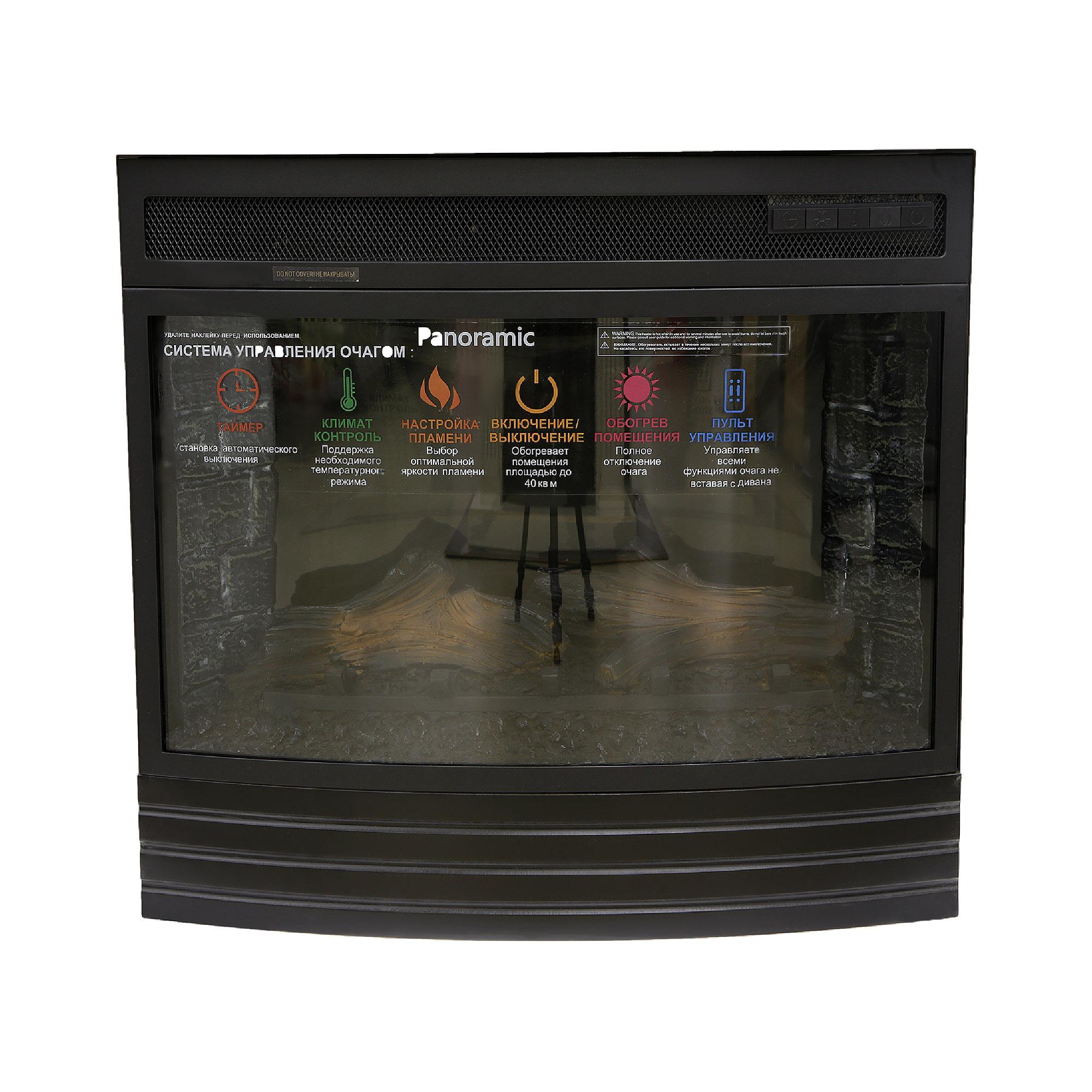 Электрический камин Interflame Panoramic 08-25 LED F/X фото
