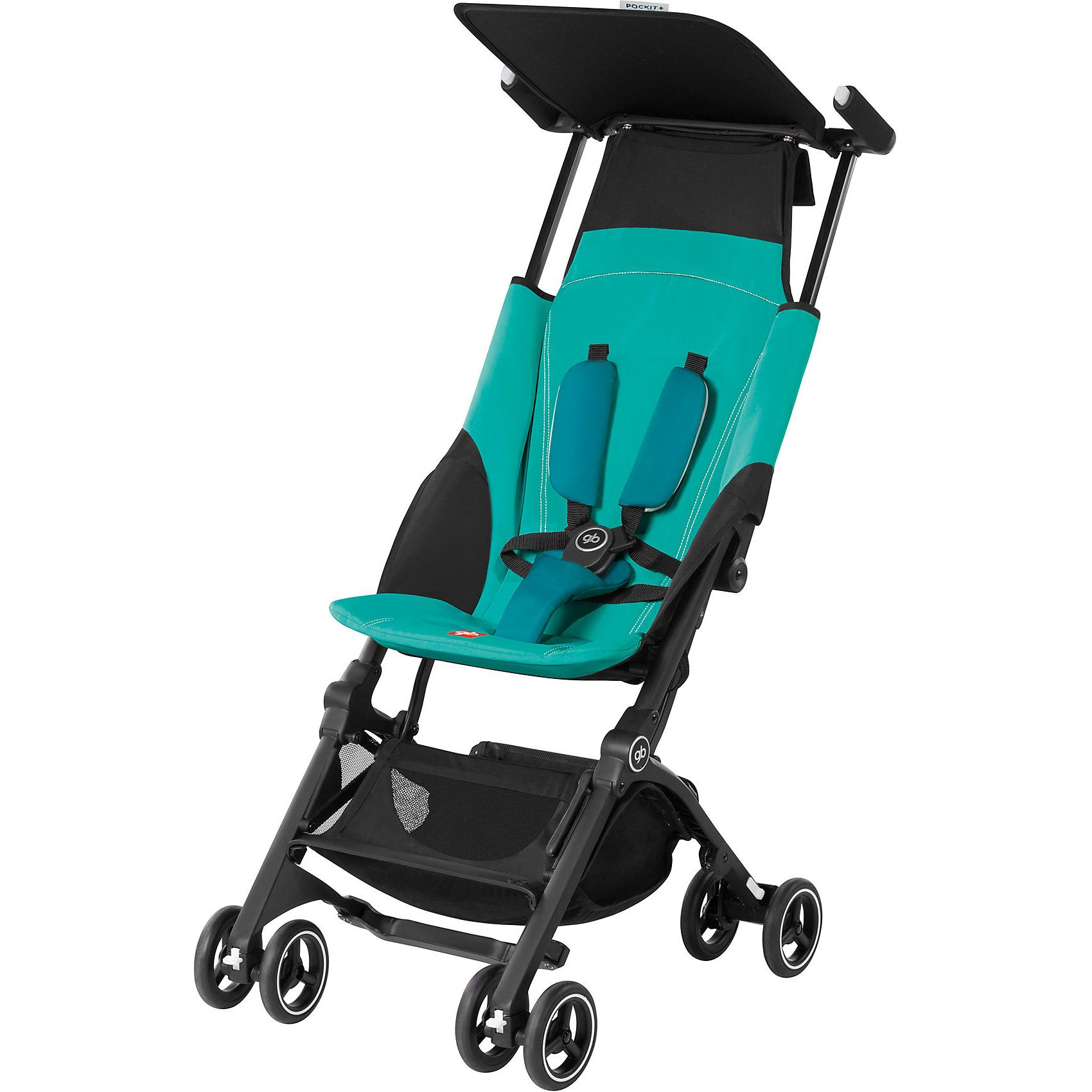 Прогулочная коляска GB Pockit+ Capri Blue