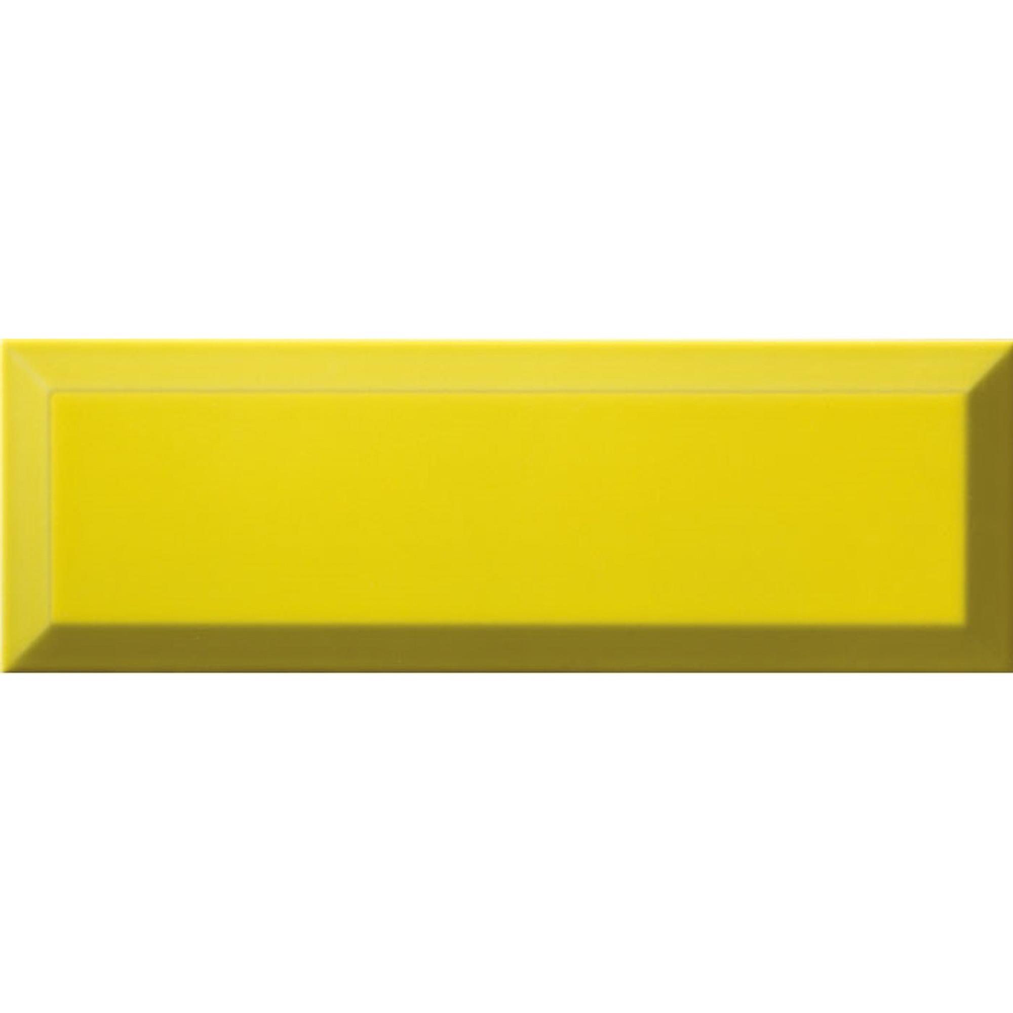 Плитка Ribesalbes Bisel Limon Brillo 10x30 см