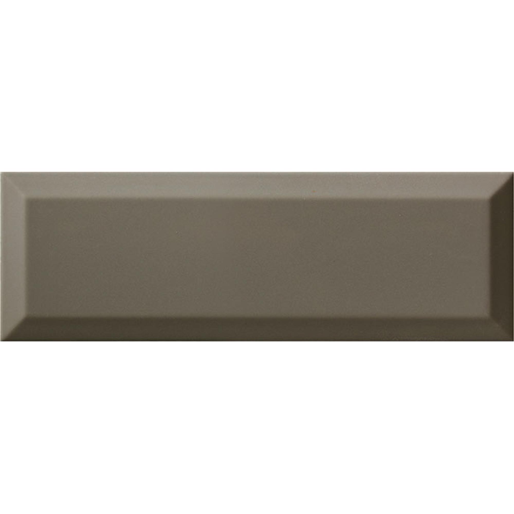 Плитка Ribesalbes Bisel Dark Grey Brillo 10x30 см