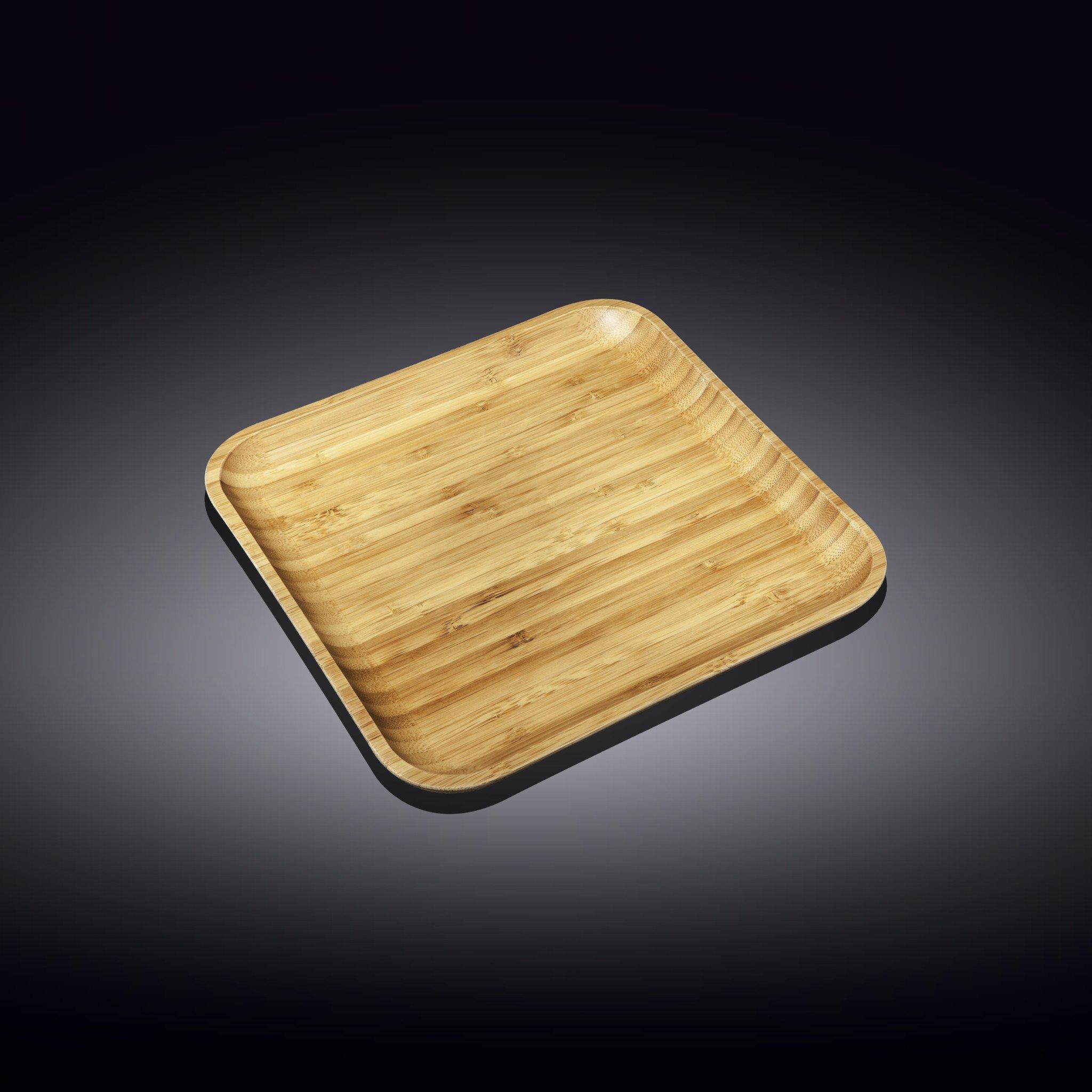 Блюдо сервировочное квадратное Wilmax 20.5 см блюдо сервировочное wilmax england 30 5 12 см