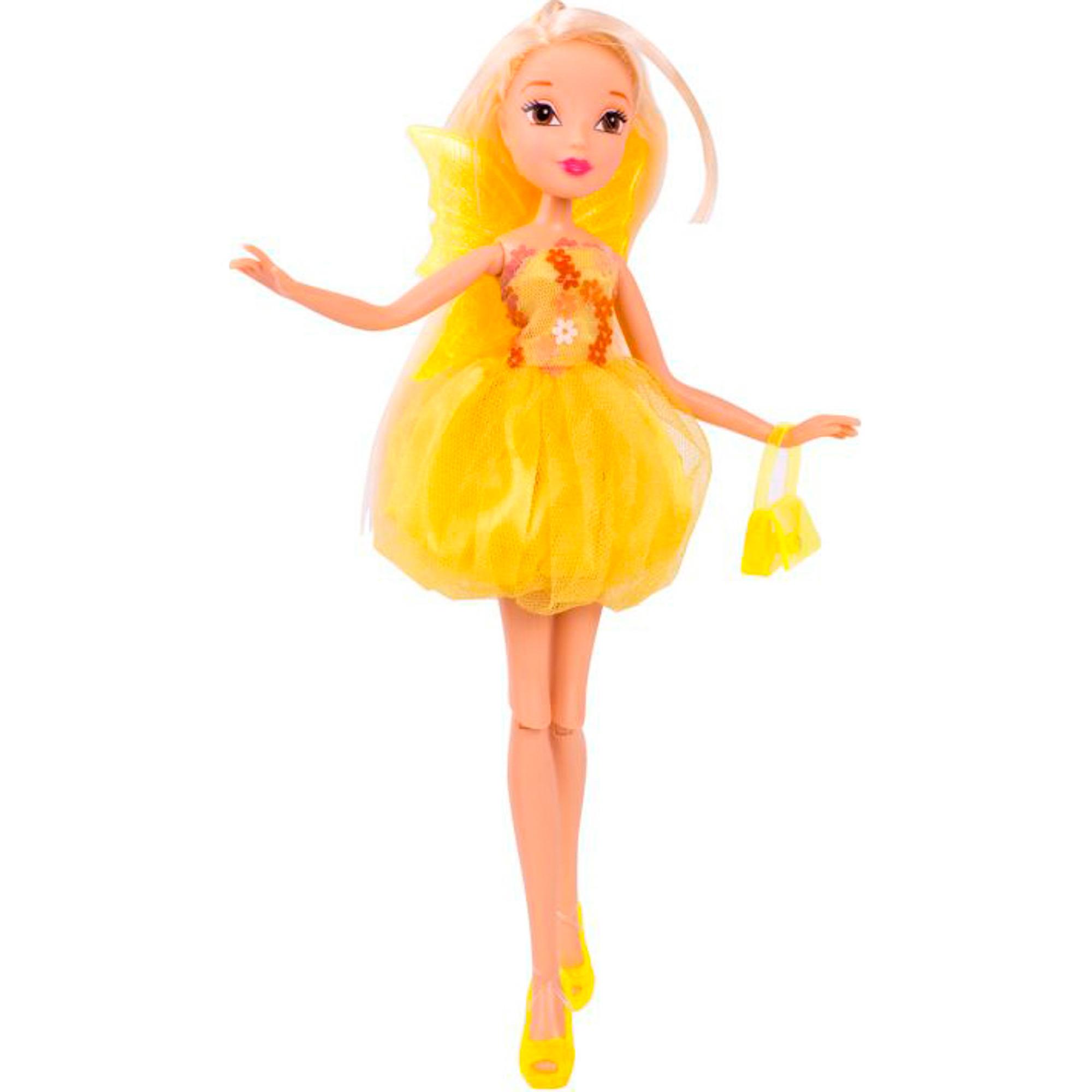Кукла Winx Club Бон Бон Стелла 28 см кукла winx club бон бон лейла 28 см