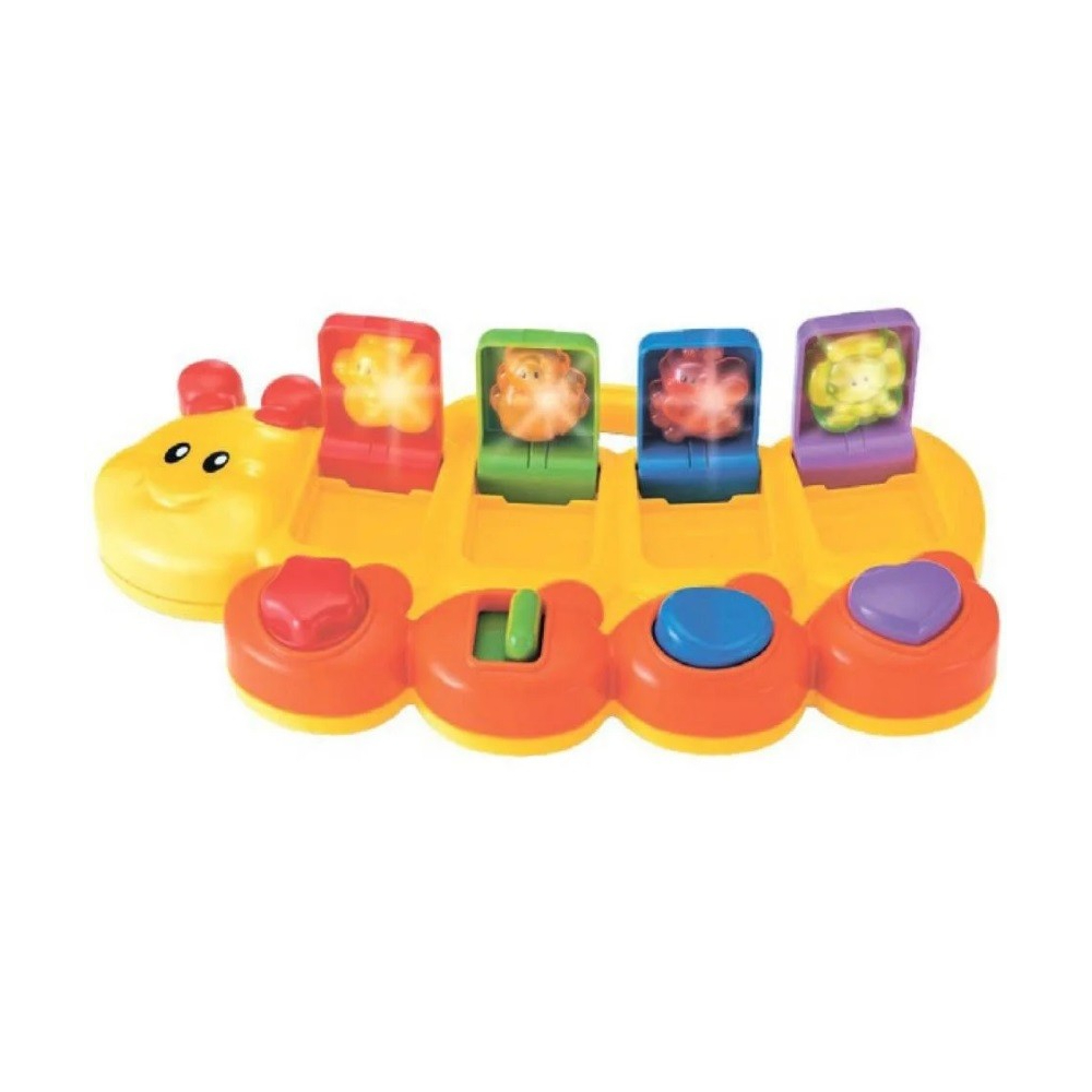 Развивающая игрушка B kids Смешная гусеница (73586)