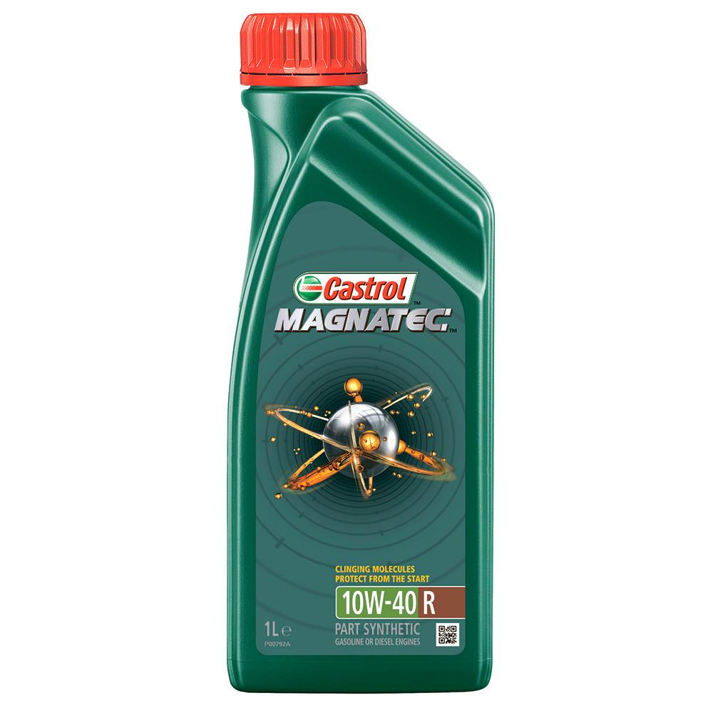 Фото - Масло моторное полусинтетическое Castrol magnatec a3/b4 r 10w-40 (1л) (p0081f0-01) полусинтетическое моторное масло castrol vecton 10w 40 7 л