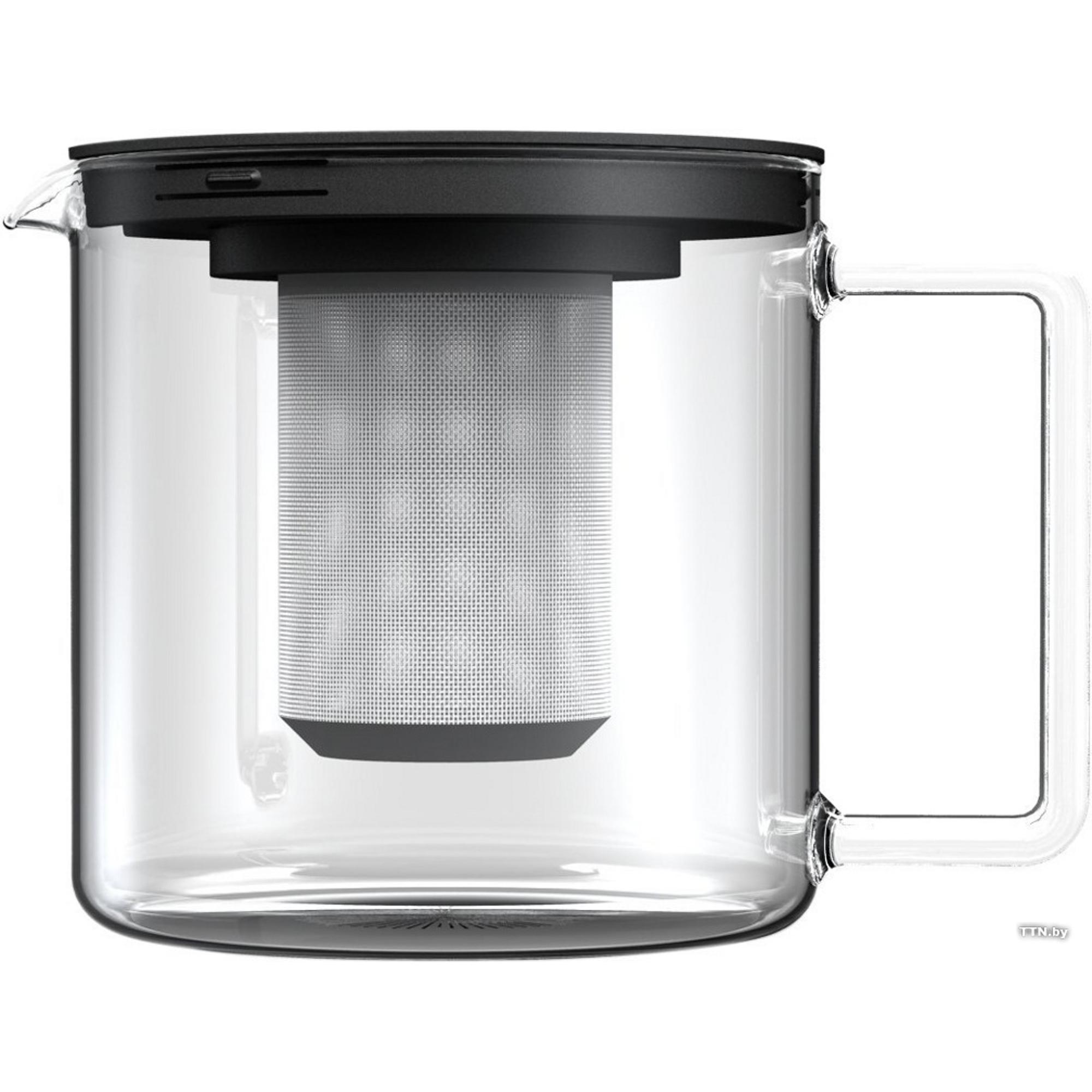 Фото - Чайник заварочный с метал фильтром Simax 1.3л миска simax simax classic 1 5л жаропрочное стекло л5899