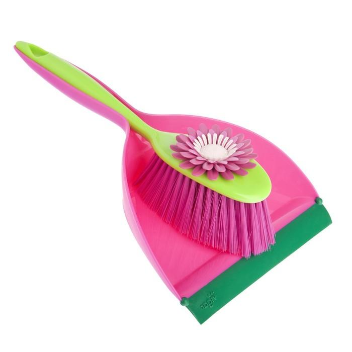 Набор для уборки Vigar Flower Power 3004 vigar набор емкостей для соли и