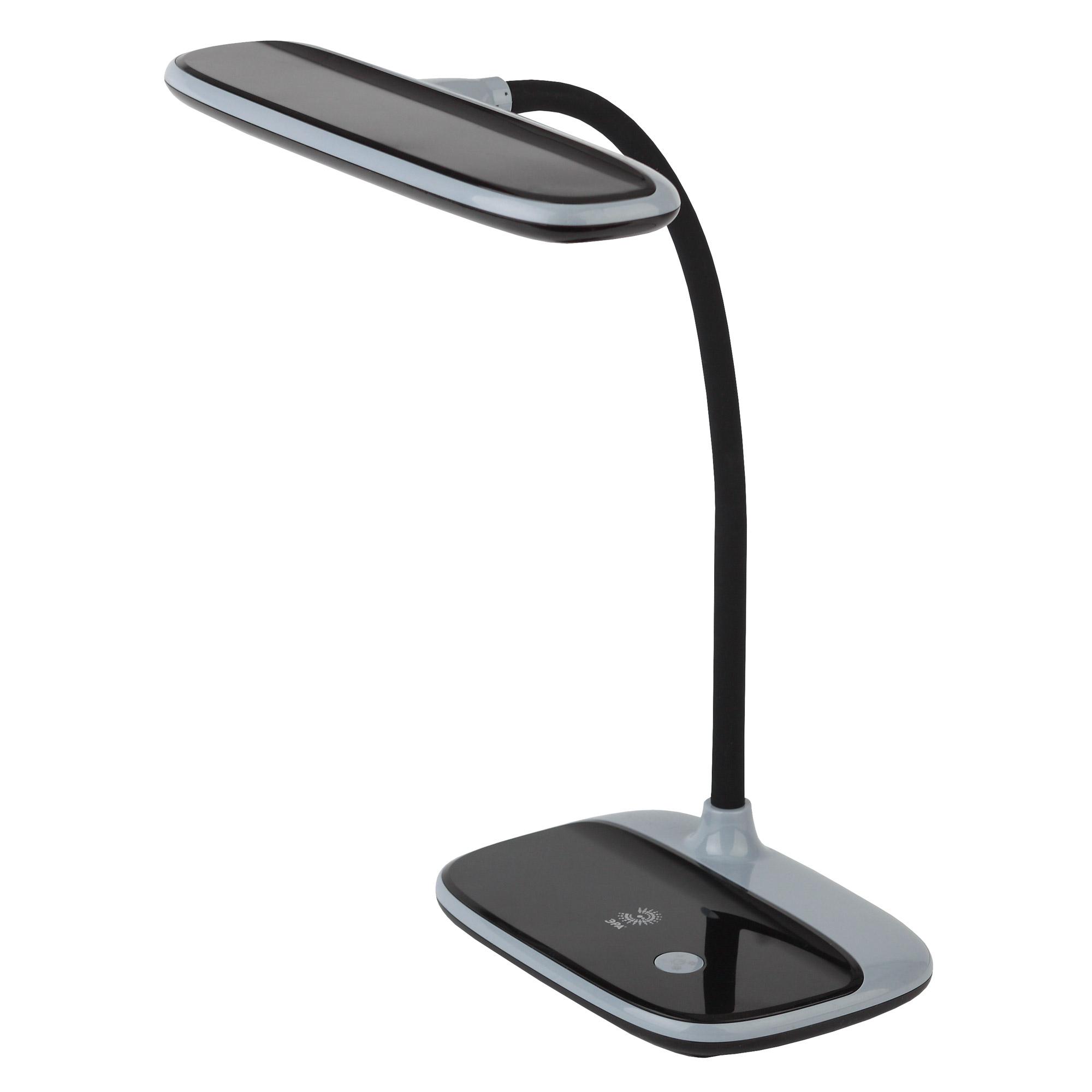 Светильник настольный Эра Nled-458-6w-bk черный