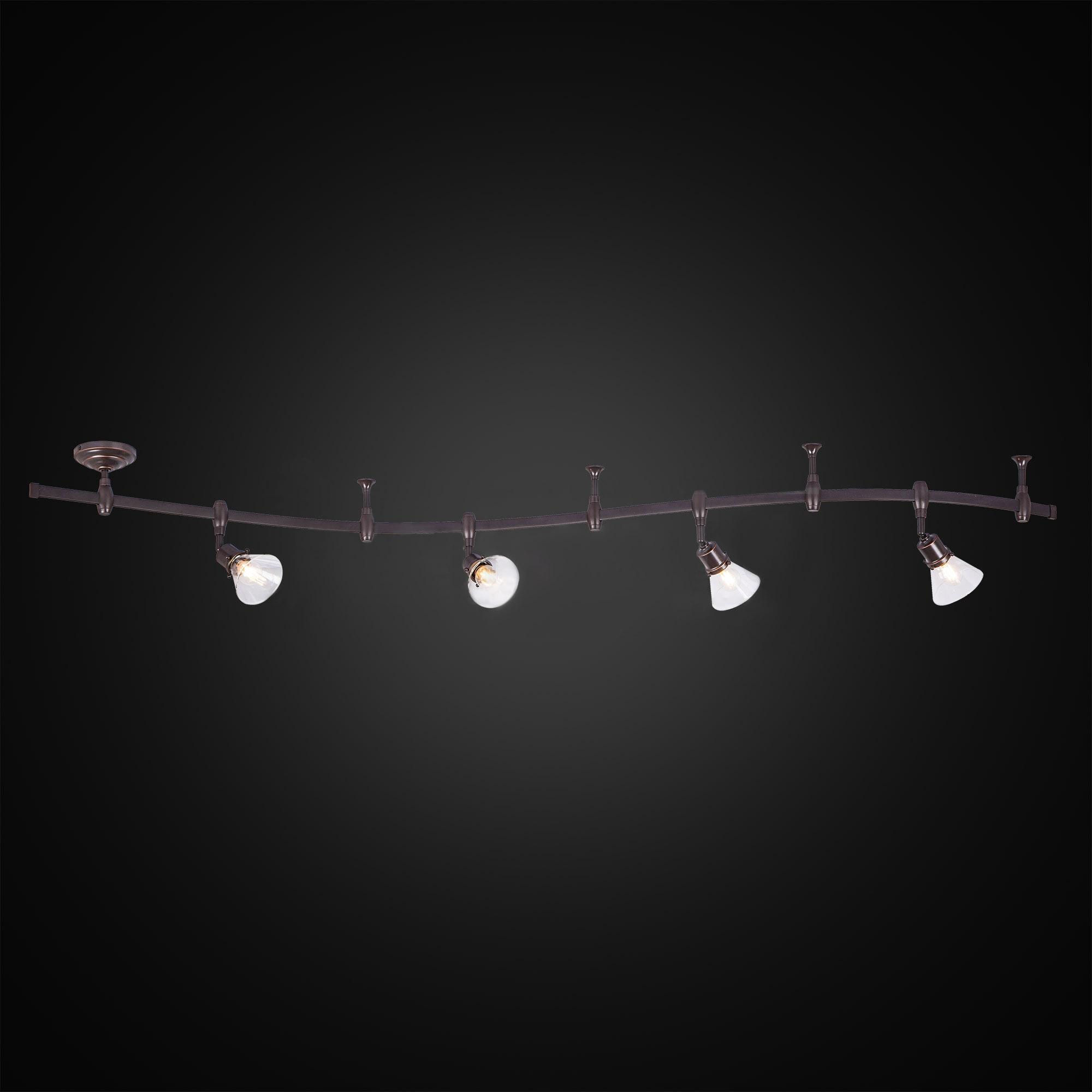 Трековый светильник Citilux Бисмарк венге CL564541 фото