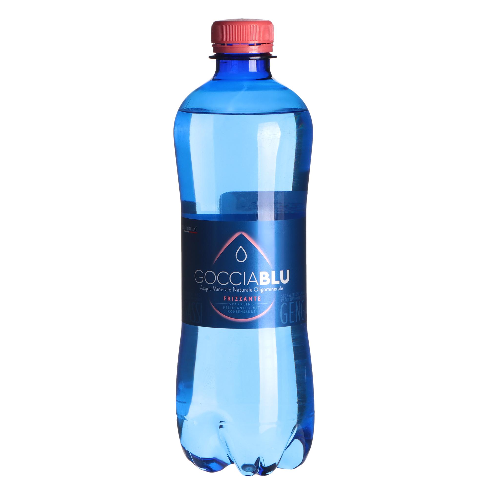 Фото - Вода минеральная Gocciablu газированная 500 мл вода минеральная горячий ключ 2000 газированная 500 мл