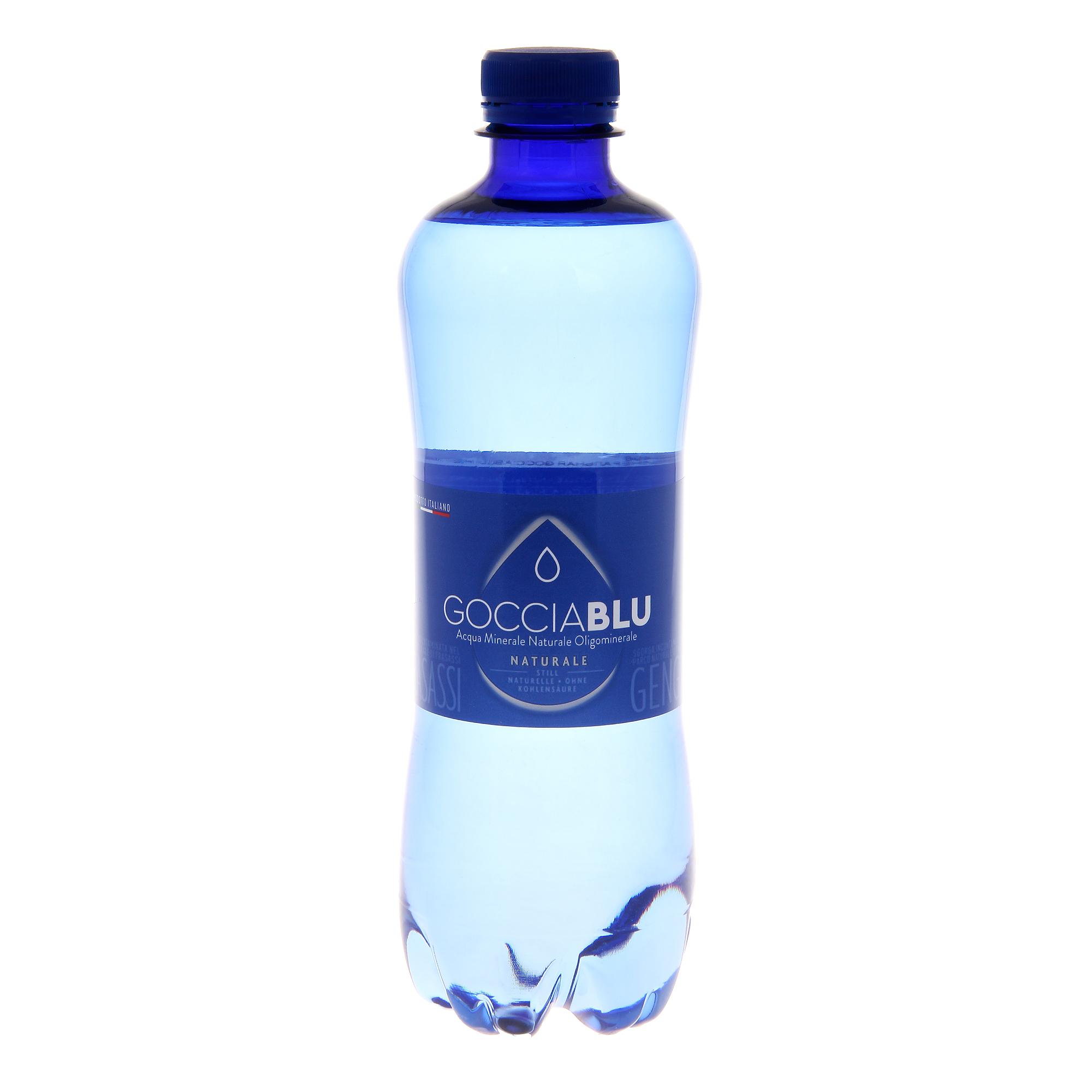 Вода минеральная Gocciablu негазированная 0,5 л