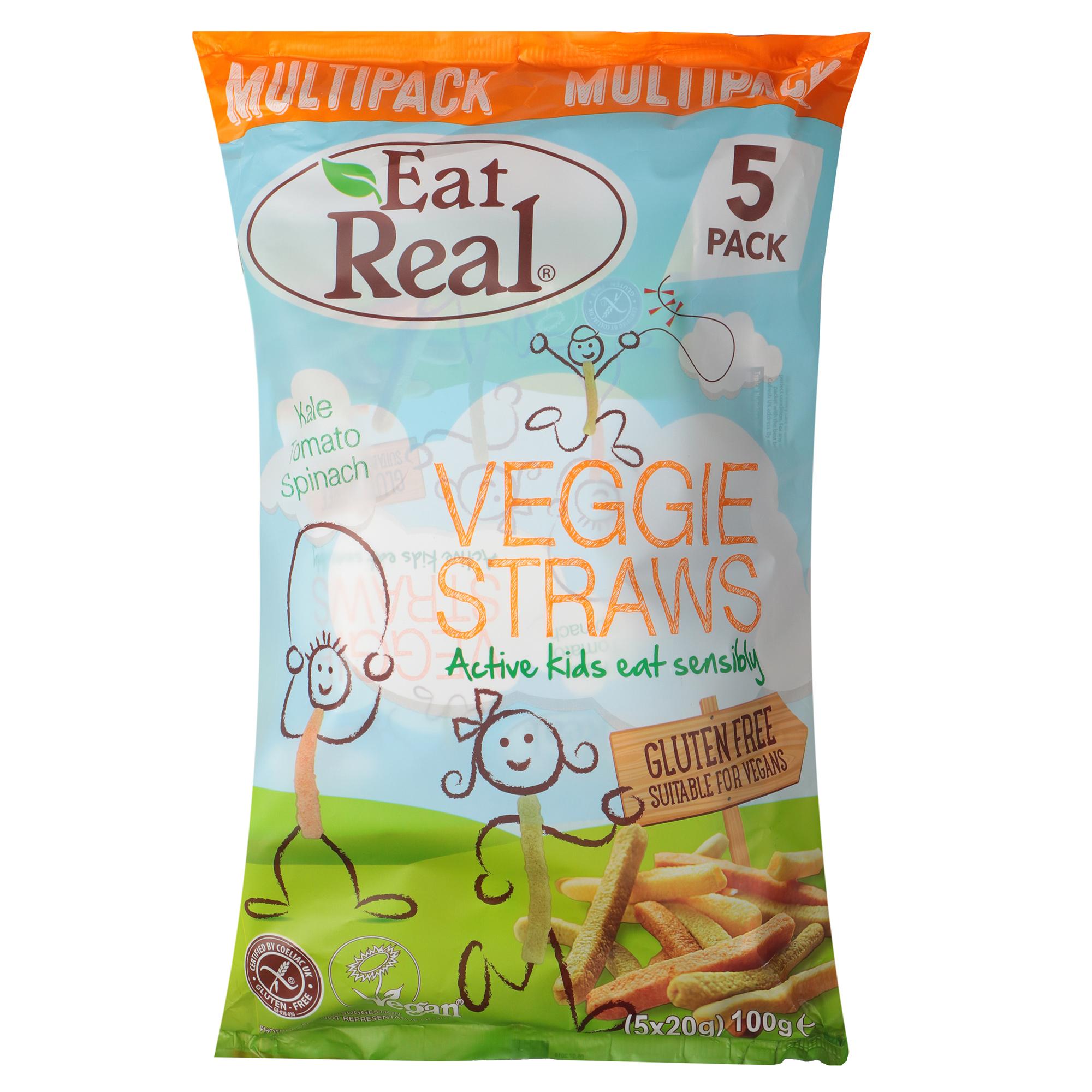 Палочки вегетарианские Eat Real Vegan Straws 100 г