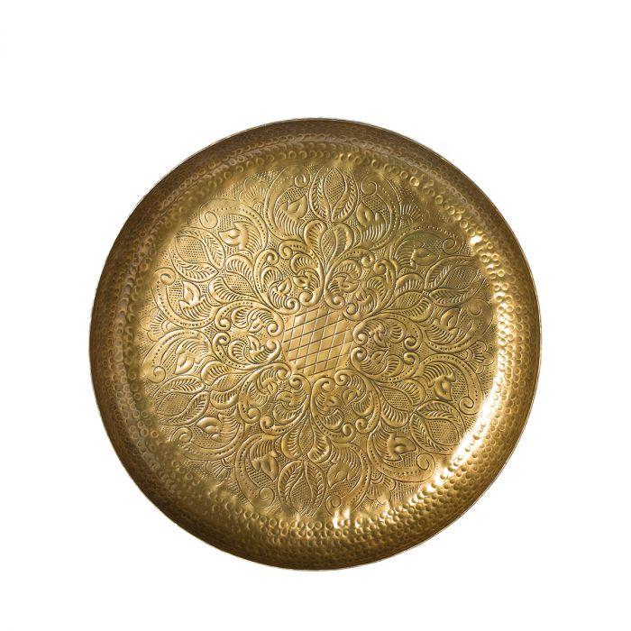 Миска декор york золотая 50см Riverdale фото